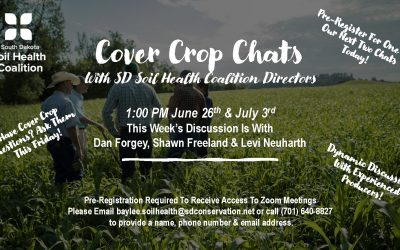 """Cover Crop Chats"" With SDSHC Directors 6/26"