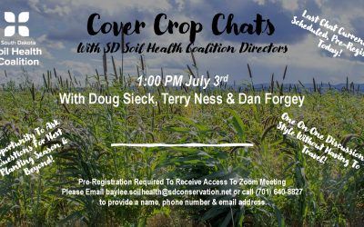 """Cover Crop Chats"" With SDSHC Directors 7/3"