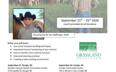 Low Stress Livestock Handling Workshops set for September